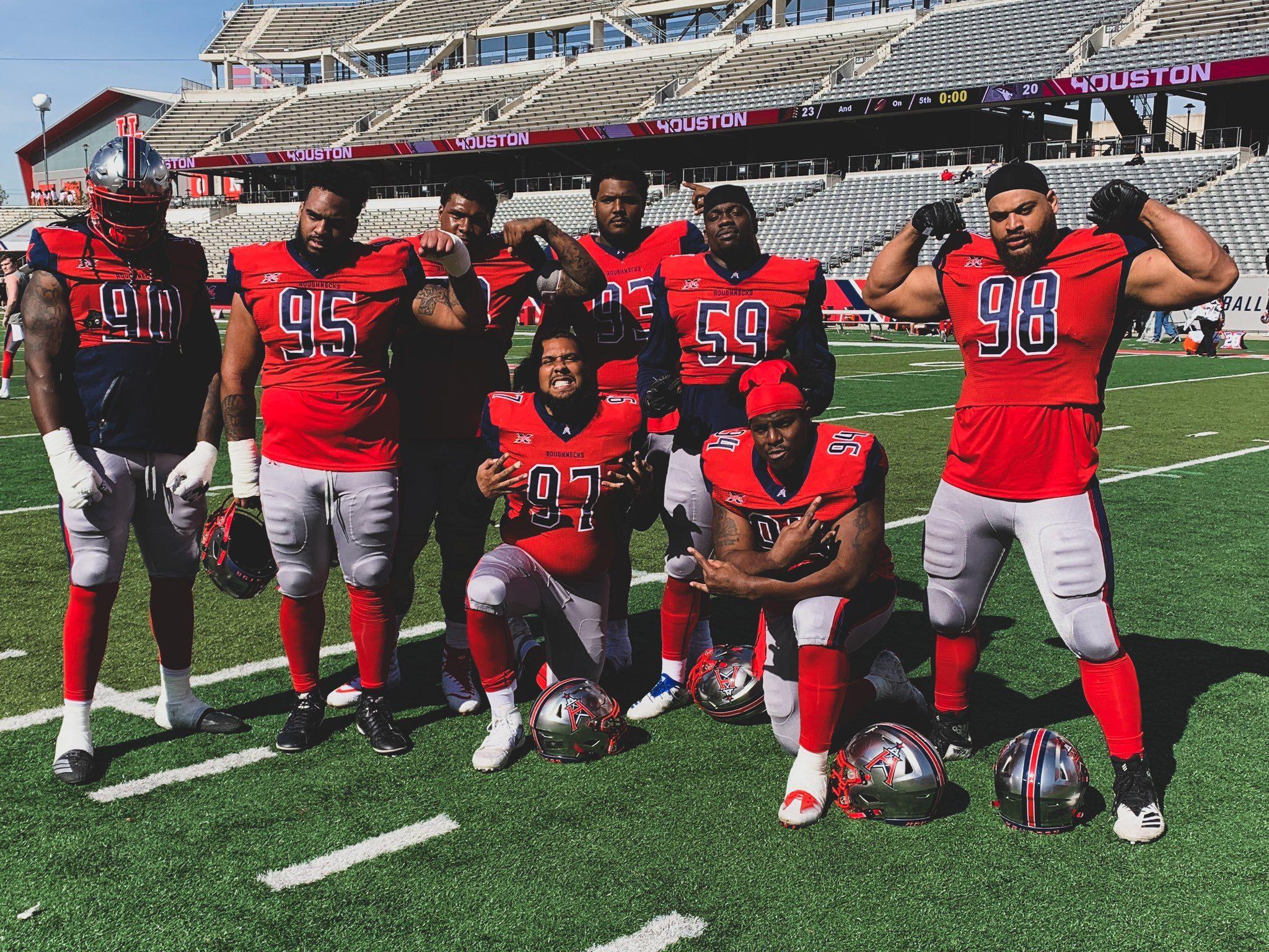 Houston Roughnecks Defensive Line