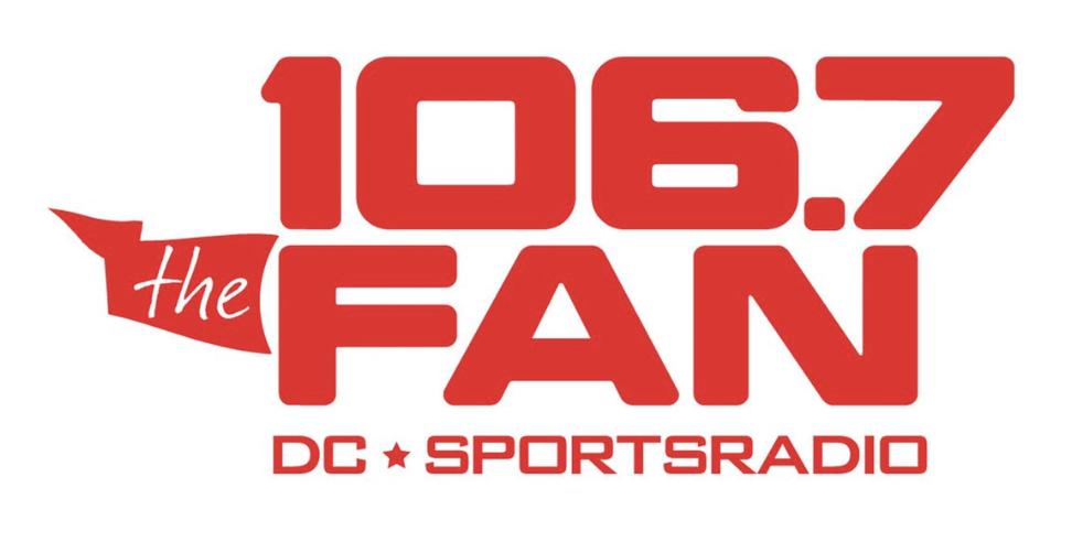 106.7 The Fan Logo